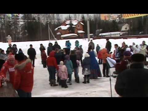 Embedded thumbnail for Масленица 2013 в Зеленой Роще